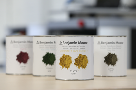 Benjamin Moore Colour Technology