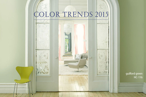 2015 Colour Trends And Colour Of The Year
