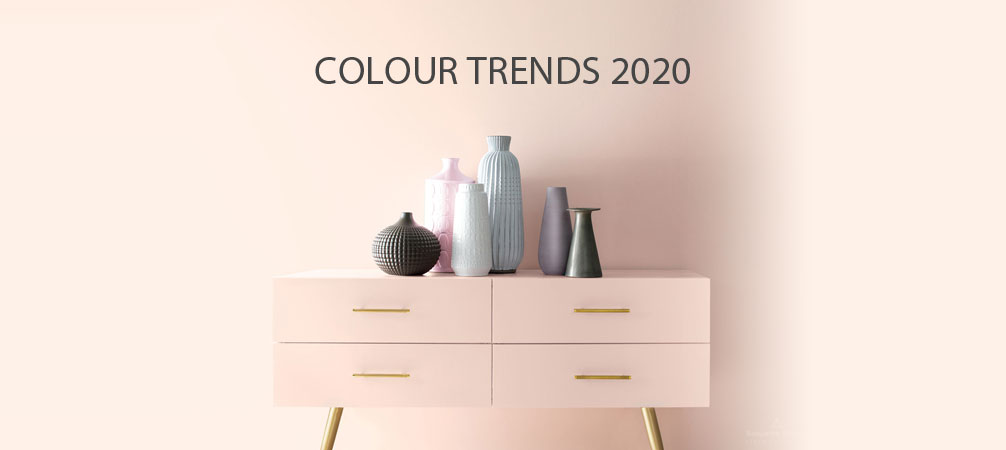 A fresh palette. A revitalised spirit. A soft, rosy hue blooming with potential. Benjamin Moore's Colour of the Year 2020, First Light 2102-70, is the backdrop for a bright new decade.