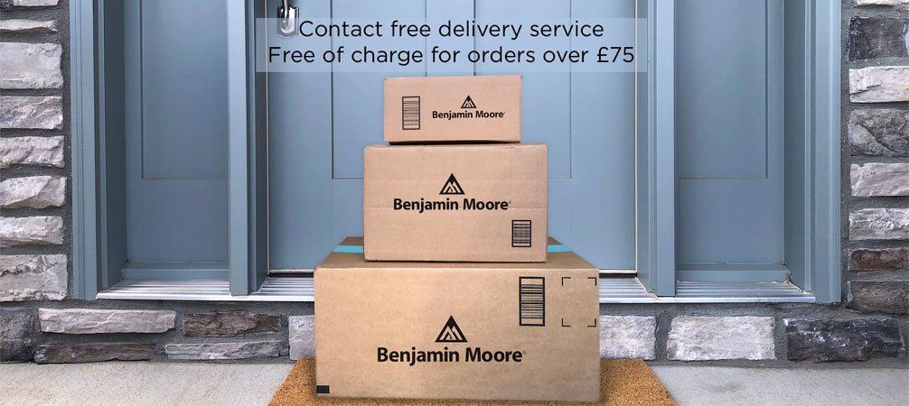 Contact free delivery service.  Free of charge for orders over £pound;75.