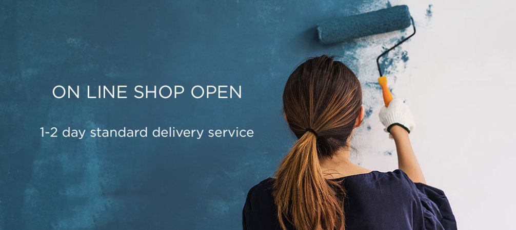 On-line shop open. 1-2 day standard delivery service.